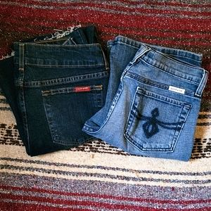2 Just USA Jeans Size 9